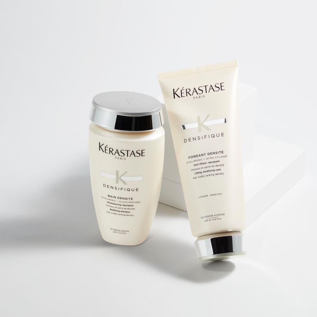 Kết quả hình ảnh cho KÉRASTASE Bain Densité Shampoo and Conditioner