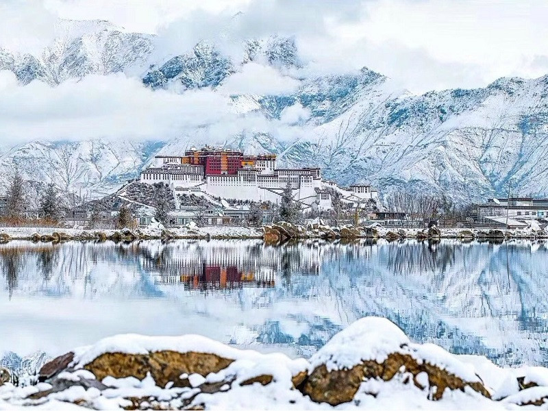 Kết quả hình ảnh cho Lhasa, Tây Tạng snow