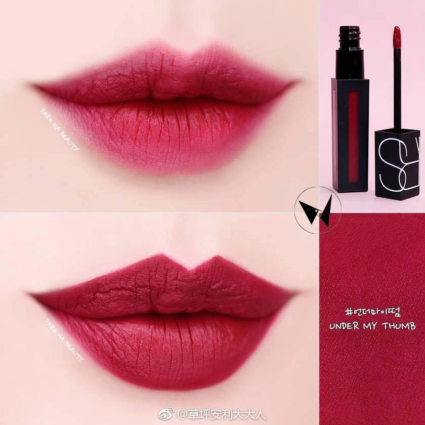 Kết quả hình ảnh cho Nars Powermatte Lip Pigment Lipstick in Under My Thumb,