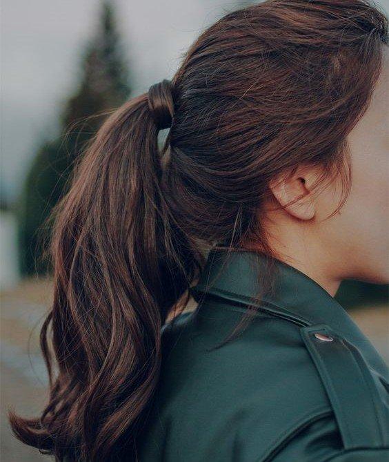 tóc nâu socola