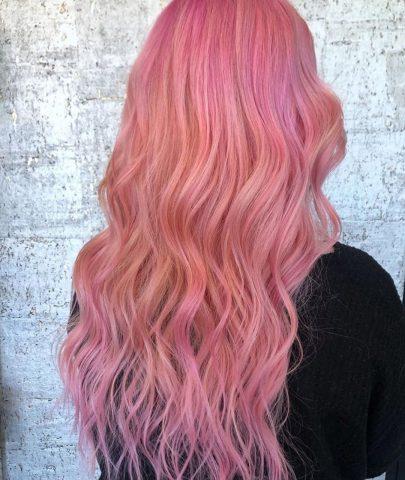 Bạn đã thử nhuộm tóc màu hồng vàng chưa?
