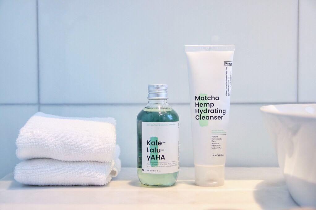 Skincare Matcha Hemp Hydrating Cleanser