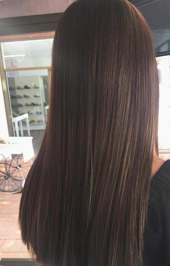 màu tóc nâu socola Smooth Chocolate