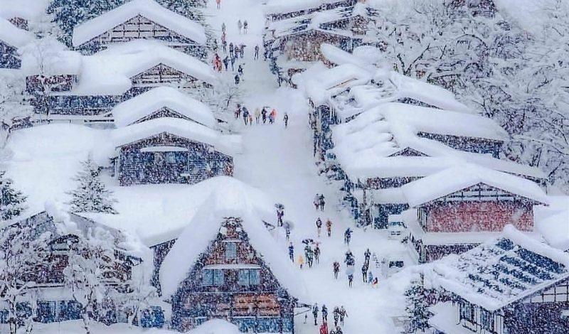 Những điểm ngắm tuyết đẹp nhất Châu Á phải bỏ túi cho Giáng Sinh năm nay
