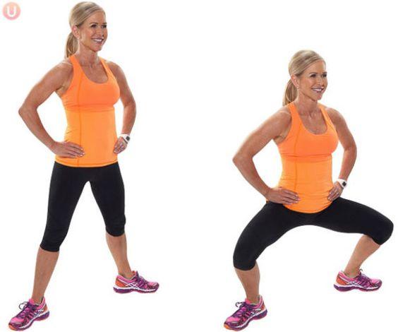 plie squats to reduce cellulite