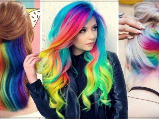Nhuộm tóc màu cầu vồng – cơ hội giúp bạn tỏa sáng mùa Tết 2021