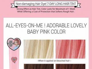 """3CE Treatment Hair Tint, công thức """"bí truyền"""" cho nàng nhuộm tóc màu nâu tây"""