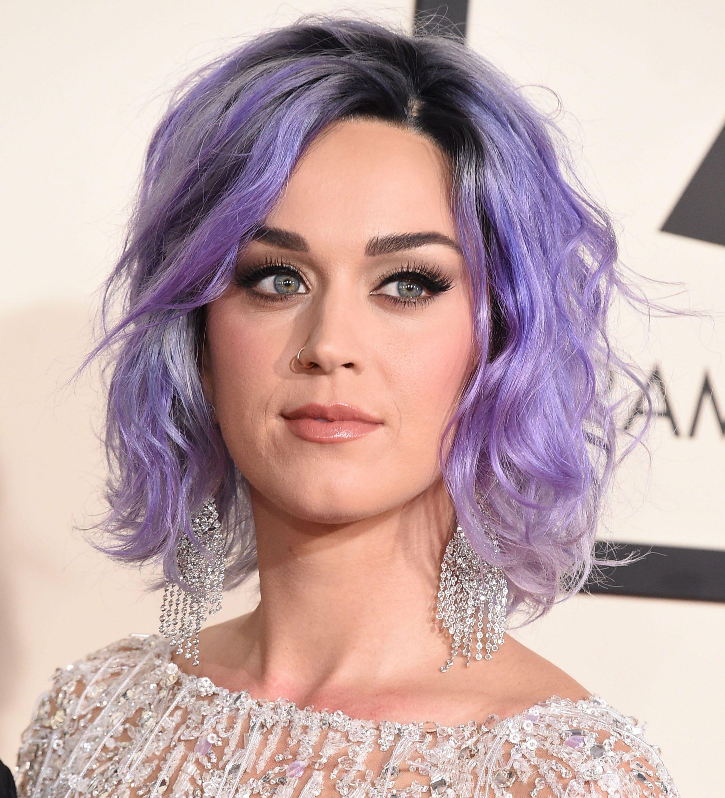 tóc màu lavender