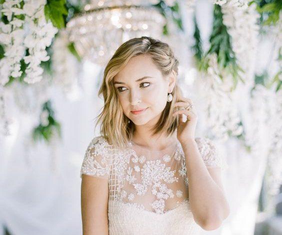 4 Kiểu tóc ngang vai cực đẹp nàng diện ngay trong ngày cưới