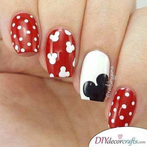 Cny Nail Mickey 2
