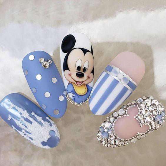 Cny Nail Mickey