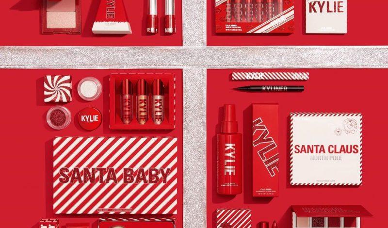 """Đón Giáng Sinh đúng chuẩn cùng BST đỏ """"ngon nghẻ"""" từ team Kylie Cosmetics thôi nàng ơi!"""