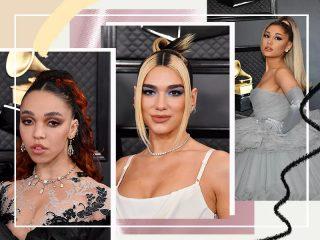 """HOT: Thảm đỏ Grammy năm nay đã """"đốn tim"""" nàng với những kiểu trang điểm nào?"""