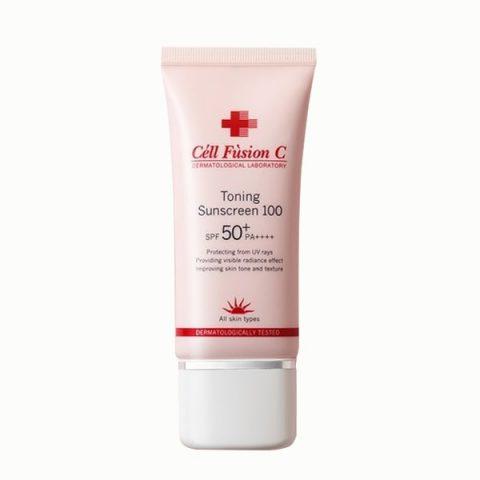 Kem chống nắng Cell Fusion C hồng