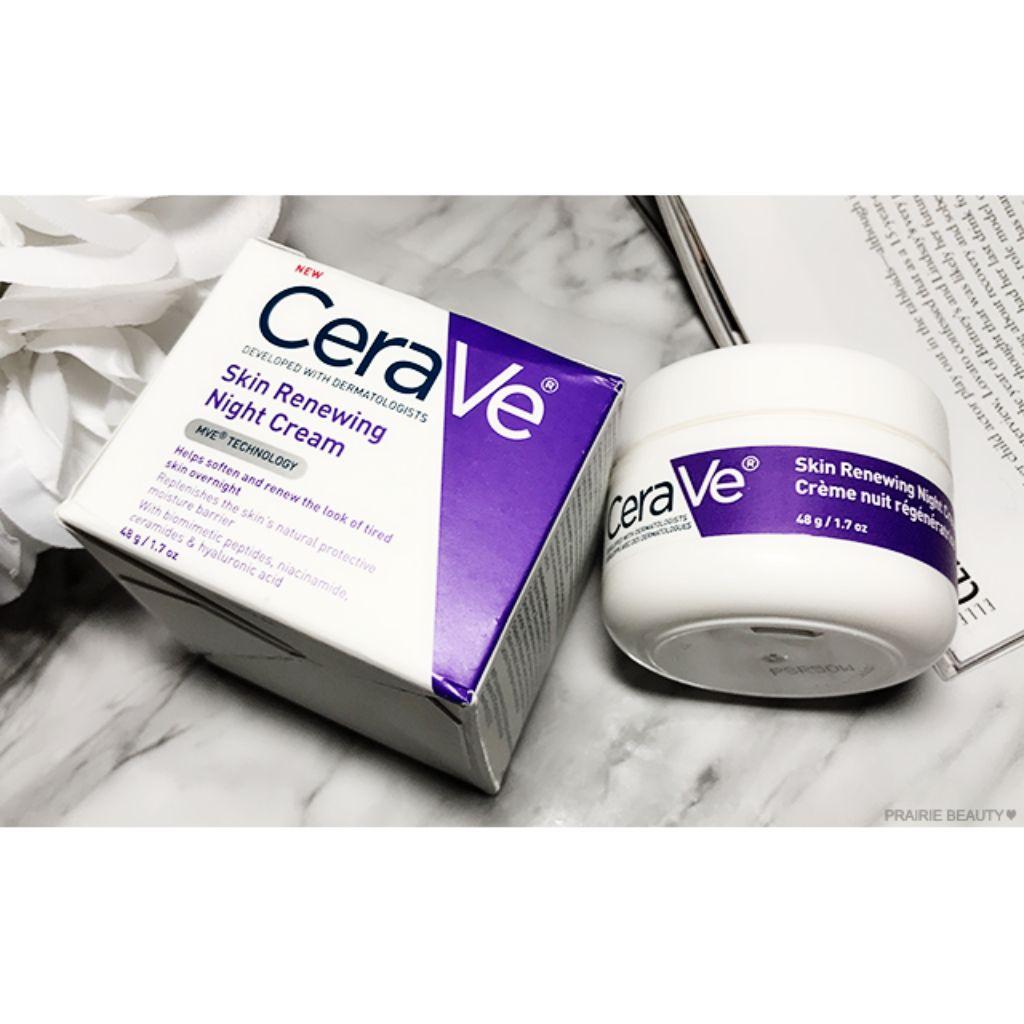 Kết quả hình ảnh cho CeraVe Skin Renewing Night Cream