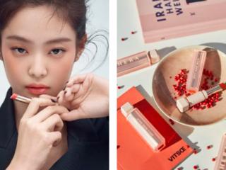 """""""Tăm tia"""" thỏi son mà Jisoo và Jennie lăng xê khiến giới K-Beauty thi nhau swatch"""