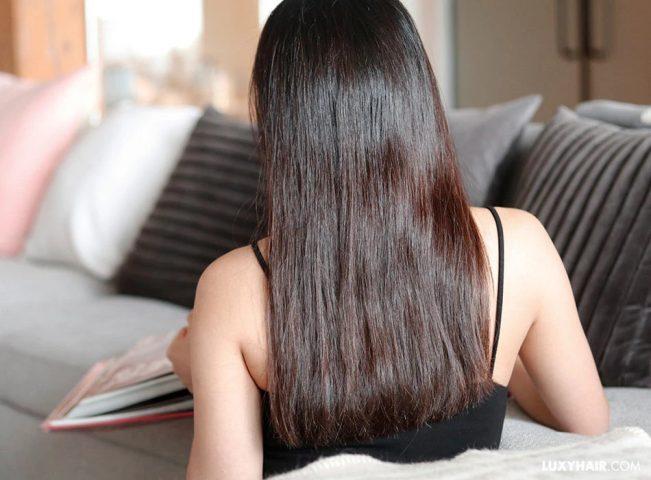 cách khắc phục tóc chẻ ngọn