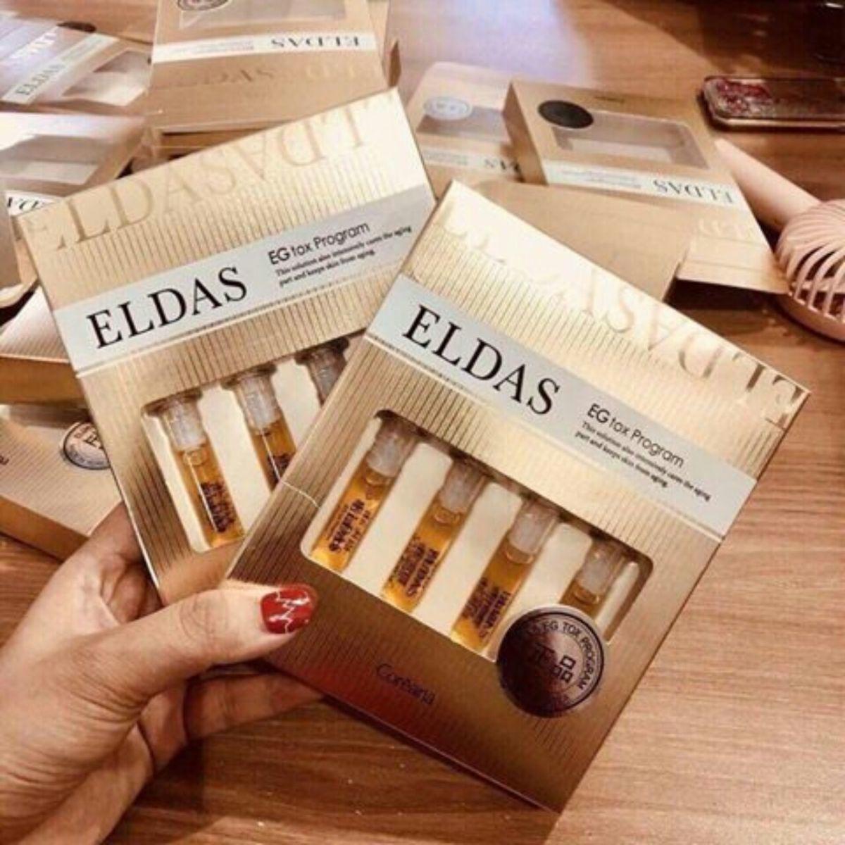 mỹ phẩm tế bào gốc Eldas