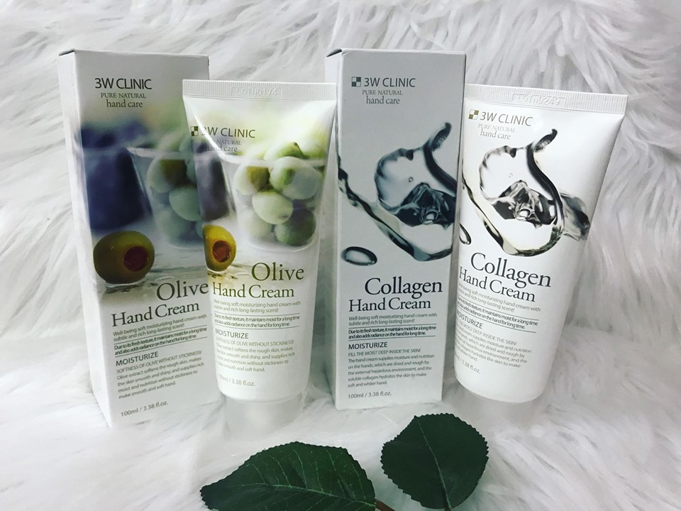 Olive 3W Clinic Hand Cream