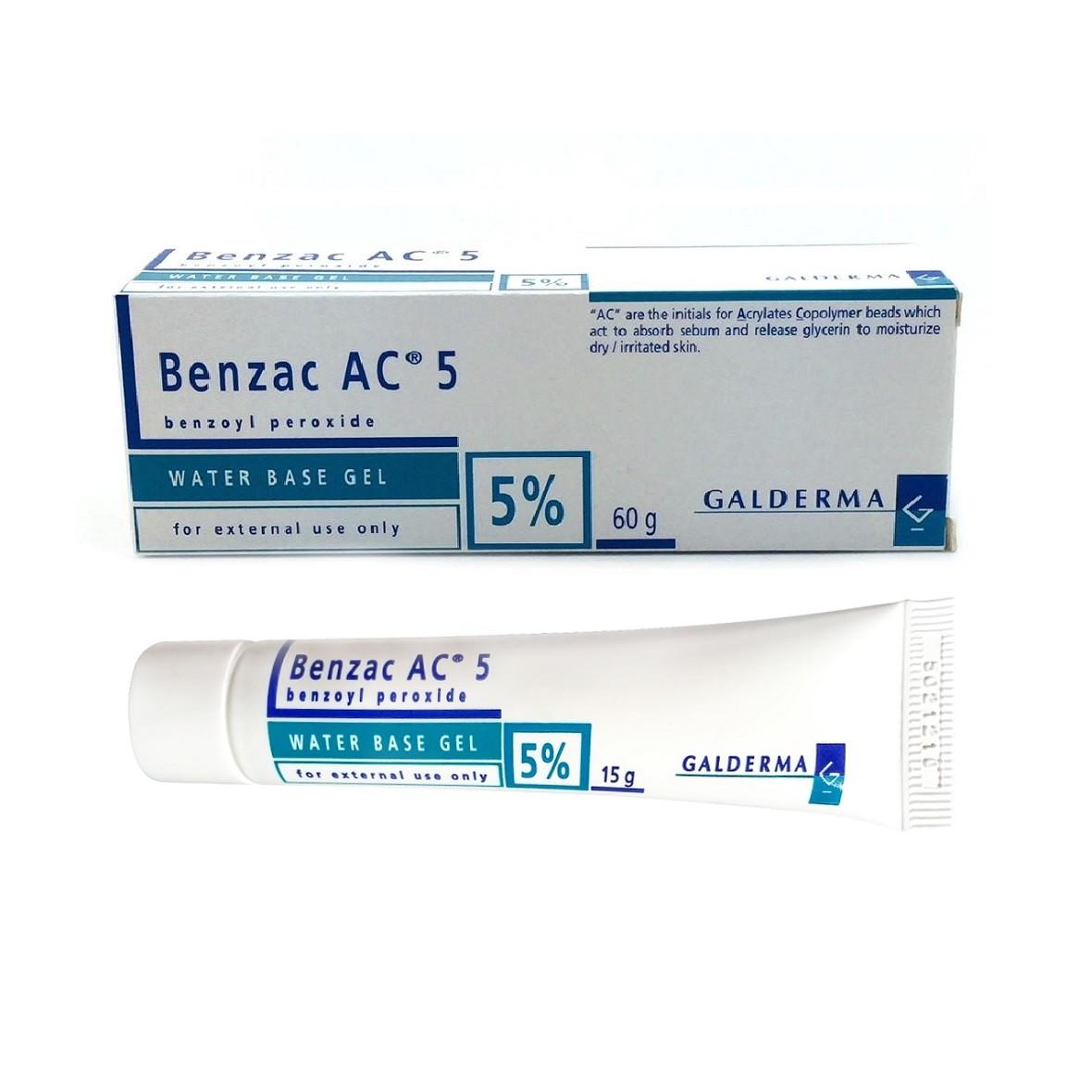 Cách Trị Mụn Bọc bằng Benzoyl peroxide