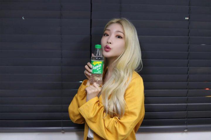 màu tóc vàng hot