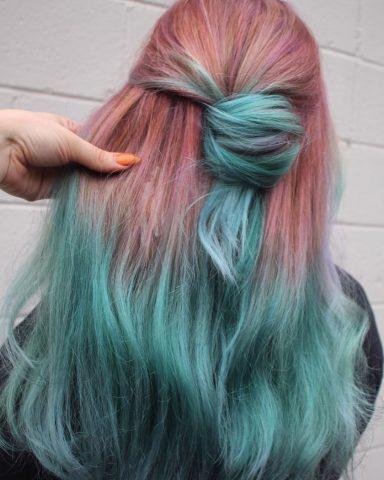 xanh hồng
