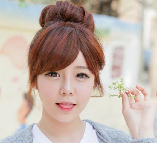 Búi tóc kiểu Hàn Quốc