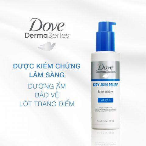 DermaSeries Dry Skin Relief SPF15 Face Cream