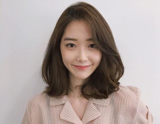 Tóc ngắn kết hợp với mái dài Hàn Quốc
