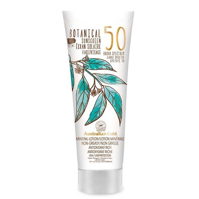 kem chống nắng trang điểm Australian Gold Botanical Tinted Sunscreen SPF 50