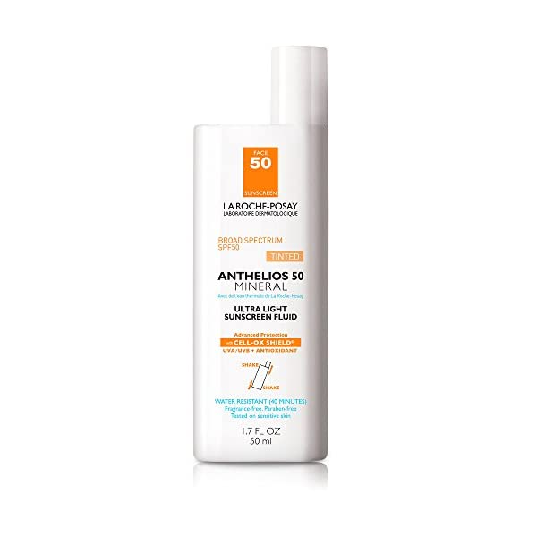 kem chống nắng trang điểm La Roche-Posay Anthelios Tinted Mineral Sunscreen SPF 50