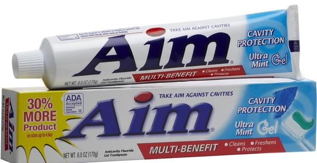Kem đánh răng tốt nhất thế giới AIM