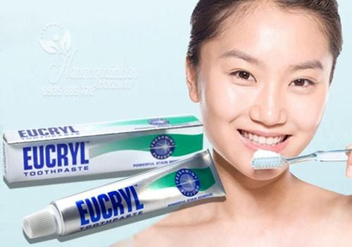 Kem đánh răng tốt nhất thế giới Euceryl