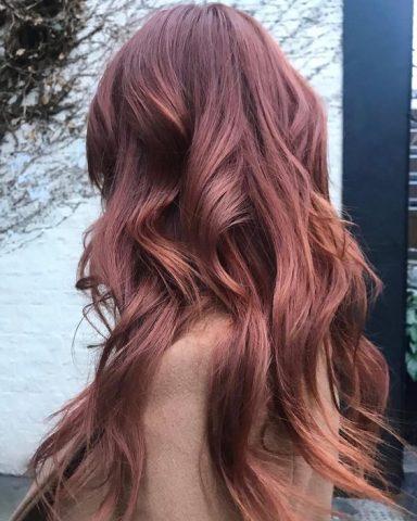Nâu đỏ ánh đồng nổi bật dành cho cô nàng cá tính