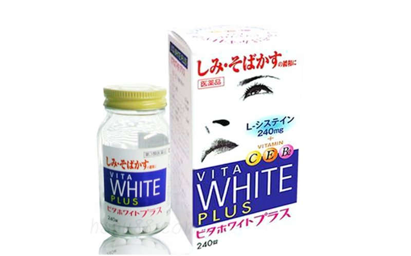 Viên uống trắng da White Plus
