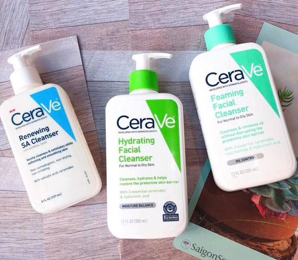 Sữa rửa mặt Cerave dịu nhẹ cho da nhạy cảm