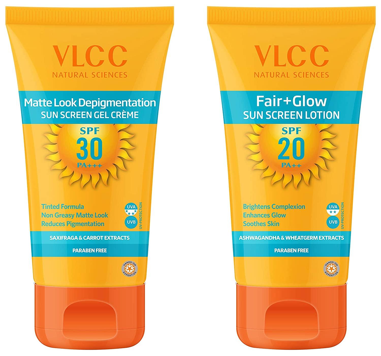 kem chống nắng cho ngày mưa VLCC Matte Look SPF 30 Sunscreen Gel Crème