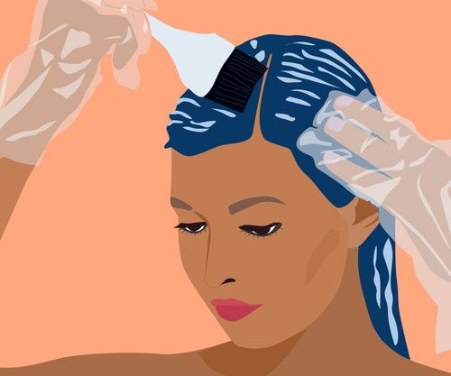 Bước 2. Bôi thuốc nhuộm và ủ tóc