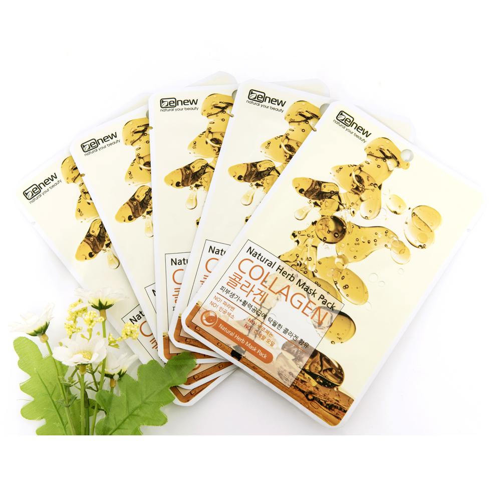 BENEW Natural Herb Mask Pack Collagen