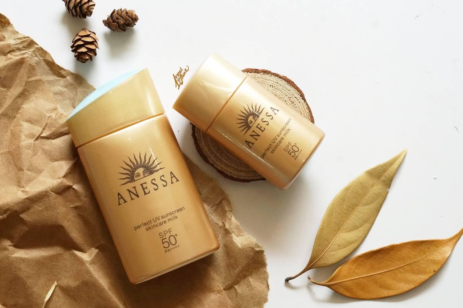 thành phần kem chống nắng Anessa Perfect UV Sunscreen Skincare Milk Spf 50+ Pa++++