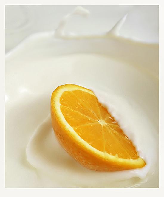 tắm trắng da toàn thân từ sữa tươi và cam