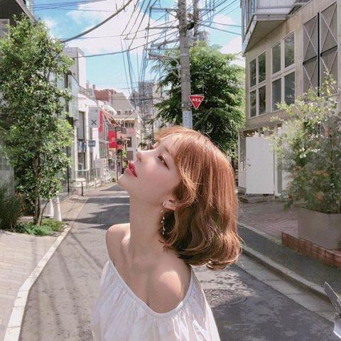 Mẫu tóc uốn xoăn Hàn Quốc