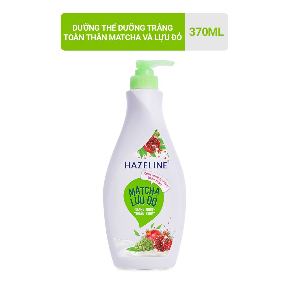 Sữa Dưỡng Thể Hazeline Dưỡng Trắng Da Matcha Lựu Đỏ