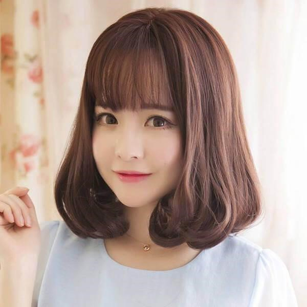tóc uốn đẹp