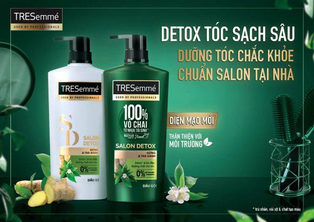 Phục hồi tóc hư tổn tại nhà? Không có gì là không thể với TRESemmé Salon Detox!