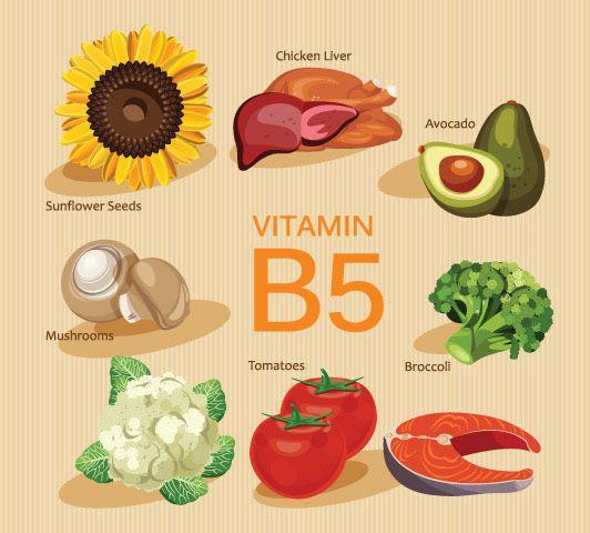 Vitamin B5 tốt cho tóc