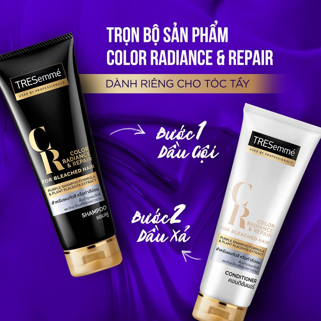 Bộ gội xả dành cho tóc tẩy TRESemmé Color Radiance & Repair For Bleached Hair
