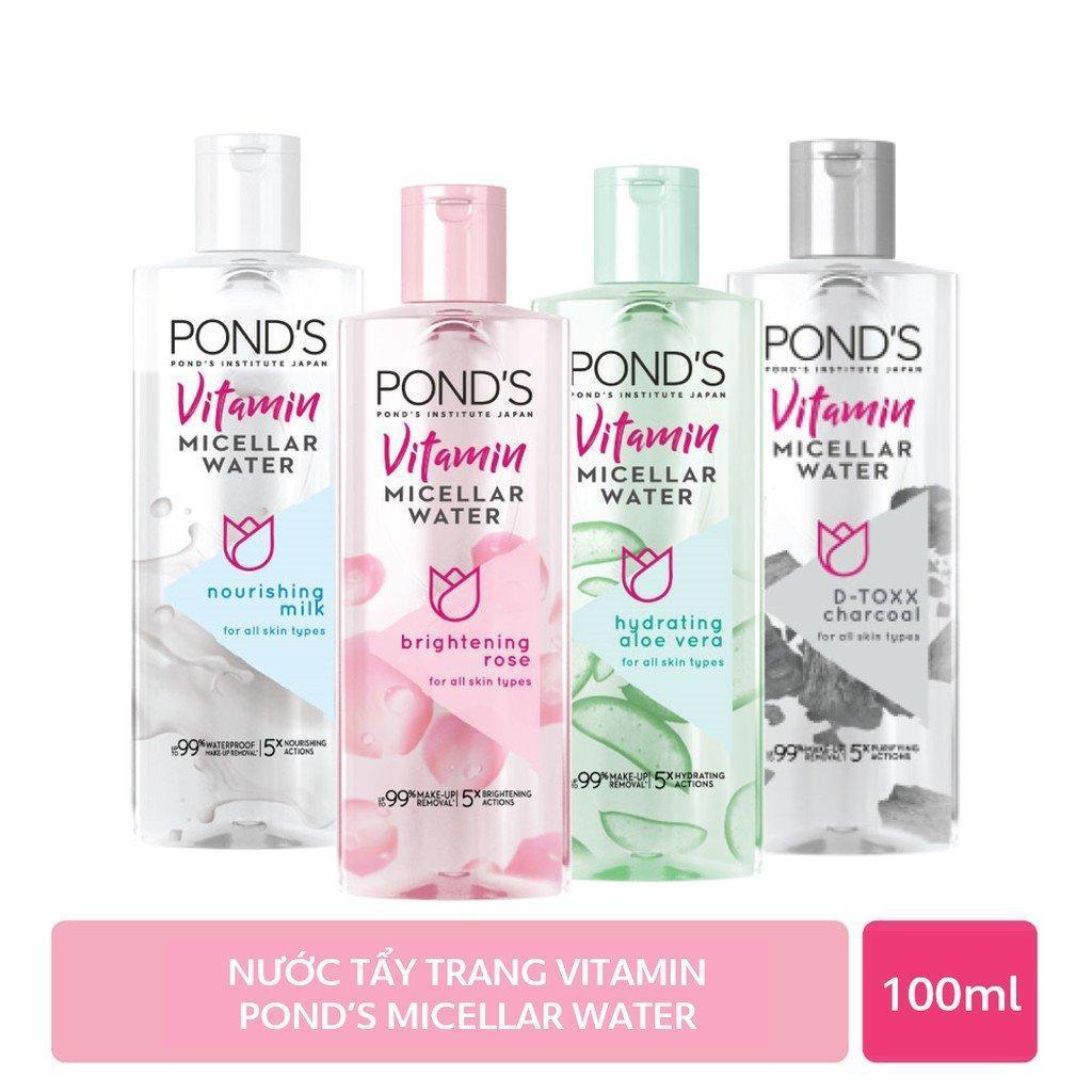 Nước tẩy trang sáng da Vitamin Pond's Micellar Water