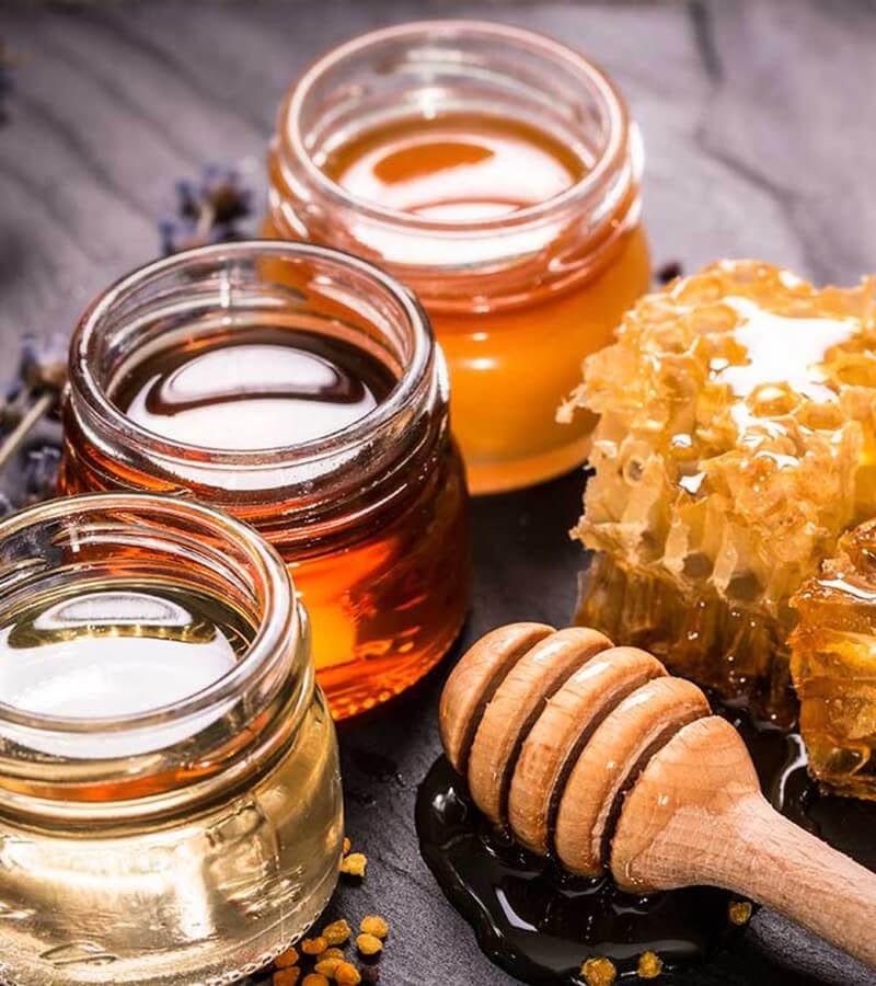 cách làm trắng răng mật ong