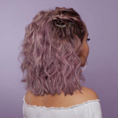 Nếu có ý nhuộm tóc màu tím trầm, lưu ý ngay 3 điều sau